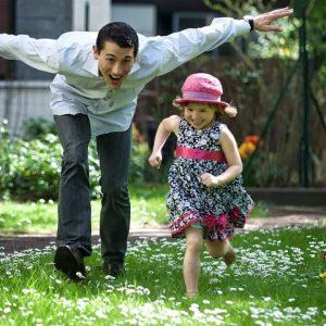 Shooting photo enfant- famille à Paris : Famille en folie