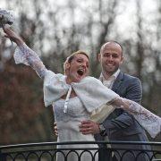 photo de couple parc reportage de mariage