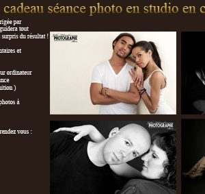 bon cadeaau studio couple