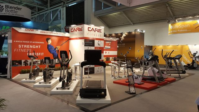 CARE Fitness - salon ISPO 2017 à Munich
