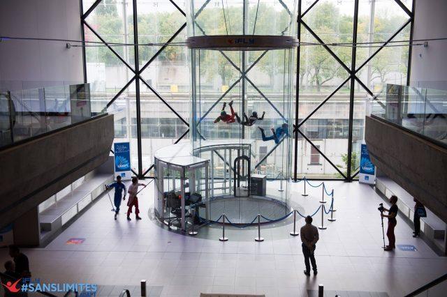 journée iFLY #SANSLIMITES par LADAPT en partenariat avec iFLY Paris