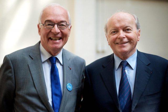 Emmanuel Constans, président de L'ADAPT Avec Jacques Toubon,