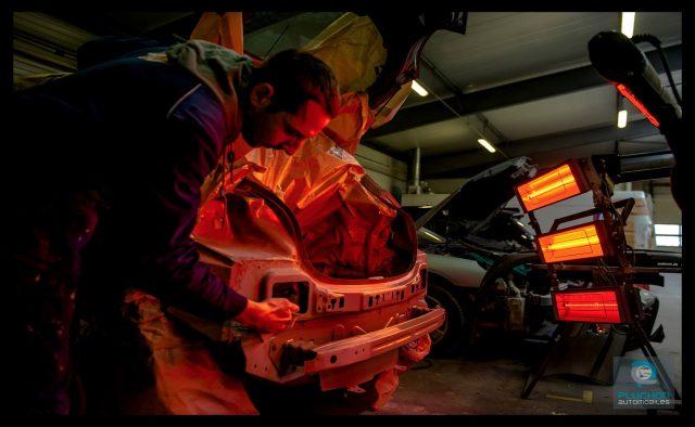 Exposition sur le secteur de l'automobile pour l'entreprise Pluchon Automobiles